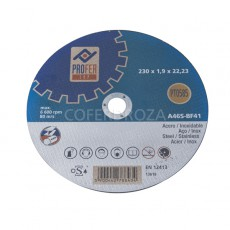 DISCO C H METAL/INOX PLANO FLEXOVIT 125X1.6MM
