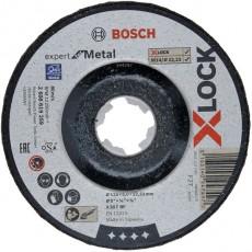 DISCO DESBASTE ACERO XLOCK BOSCH 125X6MM