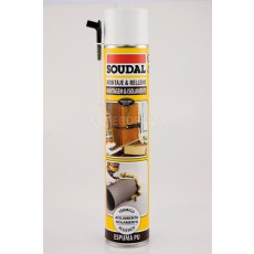 ESPUMA POLIURET CANULA SOUDAL 750 ML