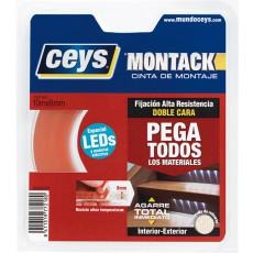 CINTA BD CARA LED MONTACK CEYS 10 MX8MM