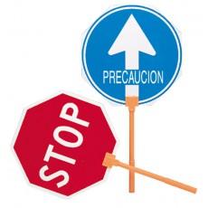 SEÑAL OBRA STOP/PASO M/PLASTIC MEPLASJAR