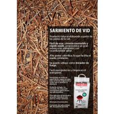 SARMIENTO DE VID BARBACOA TODOBRASA 3 KG