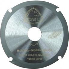 DISCO CORTE MADERA Z-4 STAYER 115X2 MM