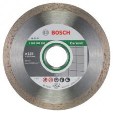 DISCO DIAMANTE CERAMICA BOSCH 115X1.6 MM