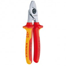 ALICATE CORTACABLE 1000 V KNIPEX 165 MM