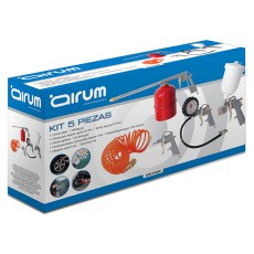 KIT AEROGRAFICO 5 PZ AIRUM