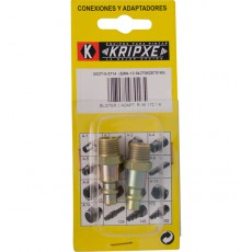 ADAPTADOR MACHO ENCHUFE R. B.2 KRIPXE 1/4''