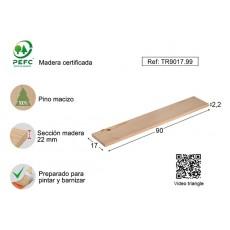 BALDA MURAL PINO 22MM S/BARN ASTIGARRAGA 90X17 CM